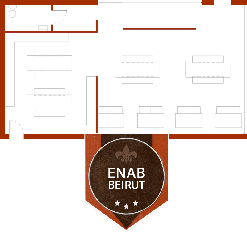 enab beirut floor plan